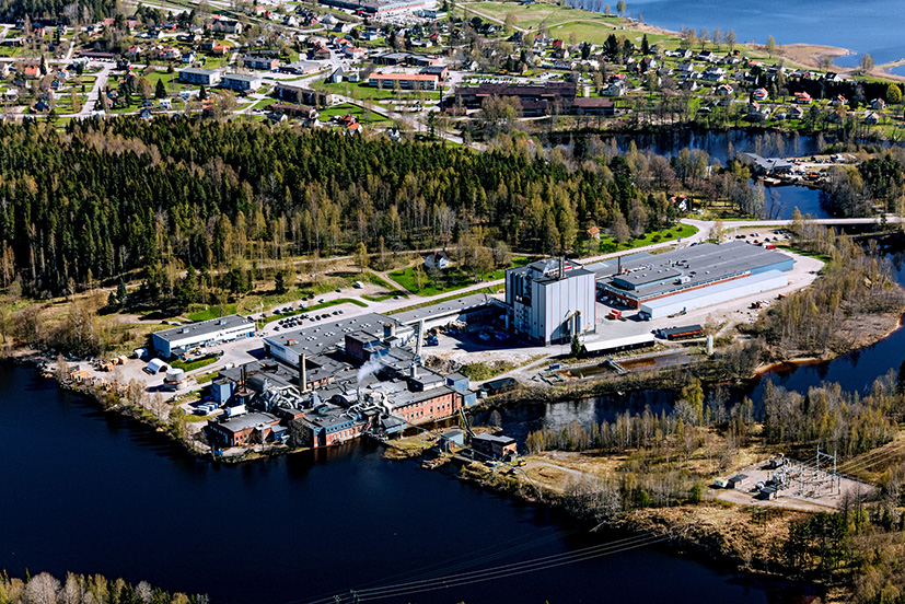 The Nordic Paper Åmotfors paper mill