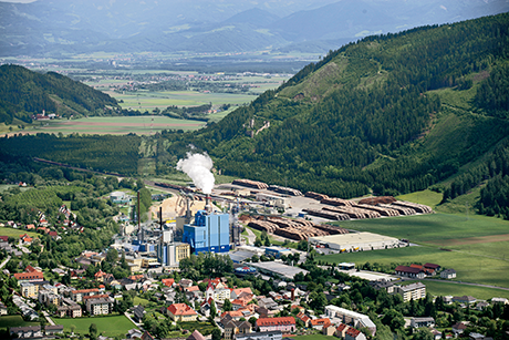 The Zellstoff Pöls pulp mill