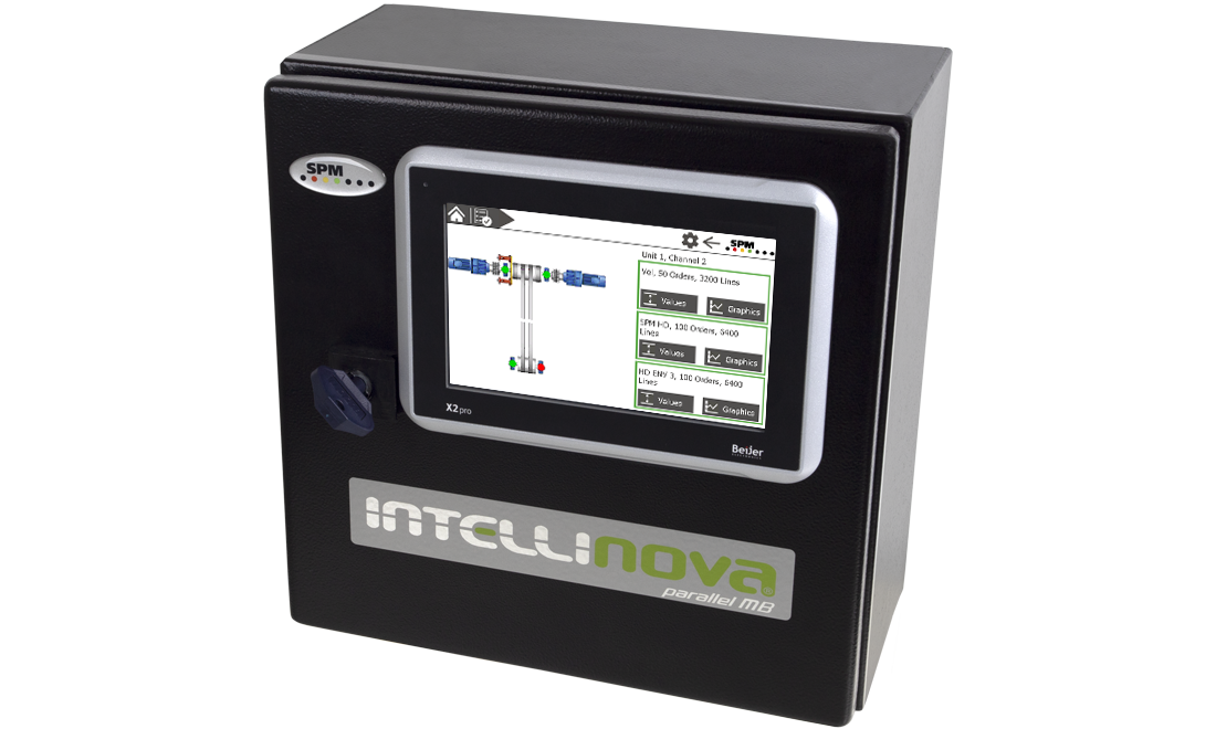 Intellinova Parallel MB cabinet with HMI display